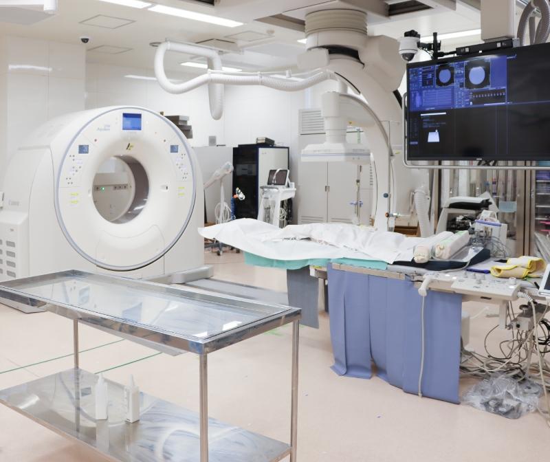 MRIガイド下IVR